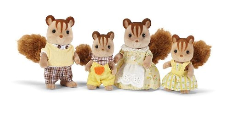 輸入カリコクリッターズシルバニアファミリーアメリカ限定 Calico Critters Hazelnut Chipmunk Family Playset [並行輸入品]