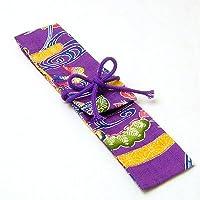 笛袋 紅型柄(オカリナトロンボーン専用) 紫