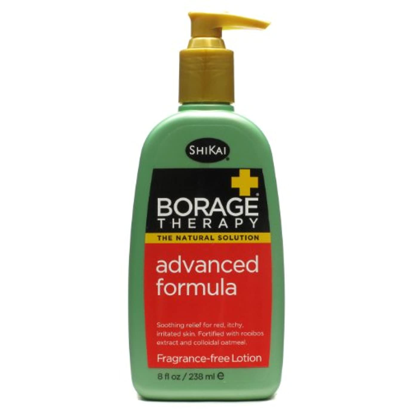 シーサイド欠乏書き込みShikai Products Borage Therapy Eczema Lotion 235 ml (並行輸入品)