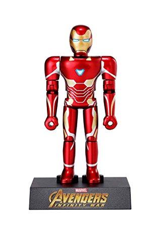 超合金HEROES アベンジャーズ アイアンマン マーク50 約100mm ABS製 塗装済み可動フィギュア