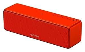 ソニー SONY ワイヤレスポータブルスピーカー h.ear go SRS-HG1 : ハイレゾ/Bluetooth/Wi-Fi対応 シナバーレッド SRS-HG1 R