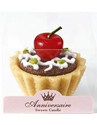 sweets candle スイーツキャンドル タルトキャンドル チェリー BA642-05-10