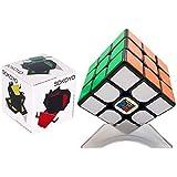 FalconShop moyu mf3rs2 ルービックキューブ スピード キューブ 立体パズル スピードキューブ 競技用 ルービックキューブ 3x3 知的玩具 (ブラック)