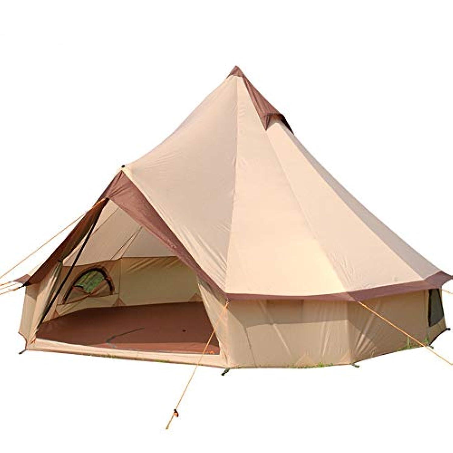 永久プレゼント専制ShiMin テント屋外8-12人多人数テント自動運転キャンプ観光フィールドテント ShiMin
