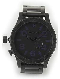 [ニクソン] NIXON 腕時計 メンズ 51-30 オールブラック×パープル メンズウォッチ 男性用 A057-714 A057714 [並行輸入品]