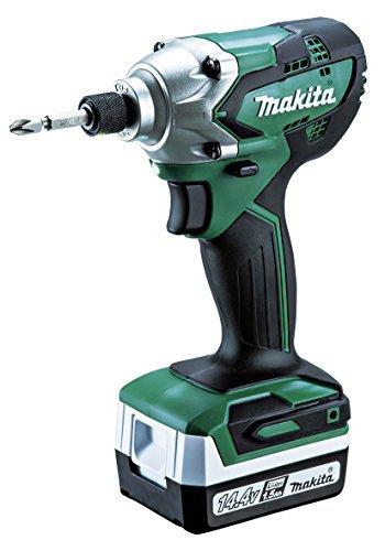 マキタ(Makita) 充電式インパクトドライバ 14.4V 1.5Ah バッテリ2本・充電器・ケース付 MTD001DSX