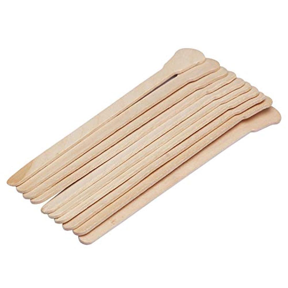 ファンブルゆでる自治的Migavann 50ピース12.5センチブラジリアンワックス 脱毛 木ヘラ ウッドスパチュラ ワックス脱毛木製ワックススティックワックスへら 使い捨て木製ワックスヘラ舌ワックスアプリケータ
