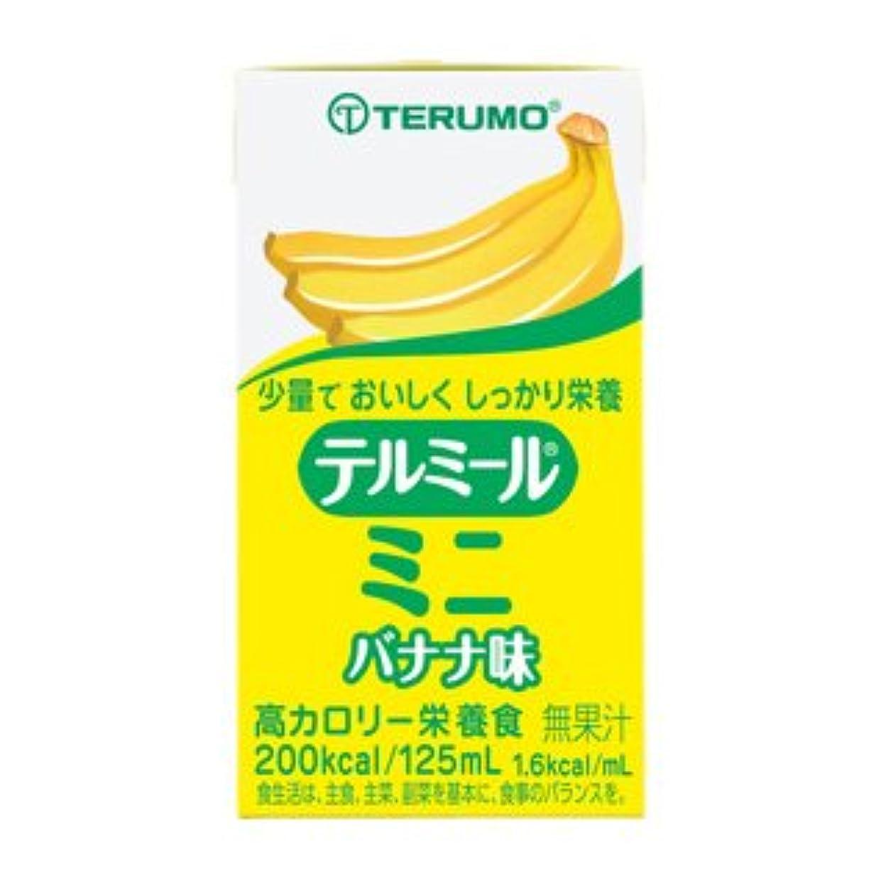 受け入れる反逆圧力テルミールミニ 125ml (TM-B1601224?バナナ味) 24個入