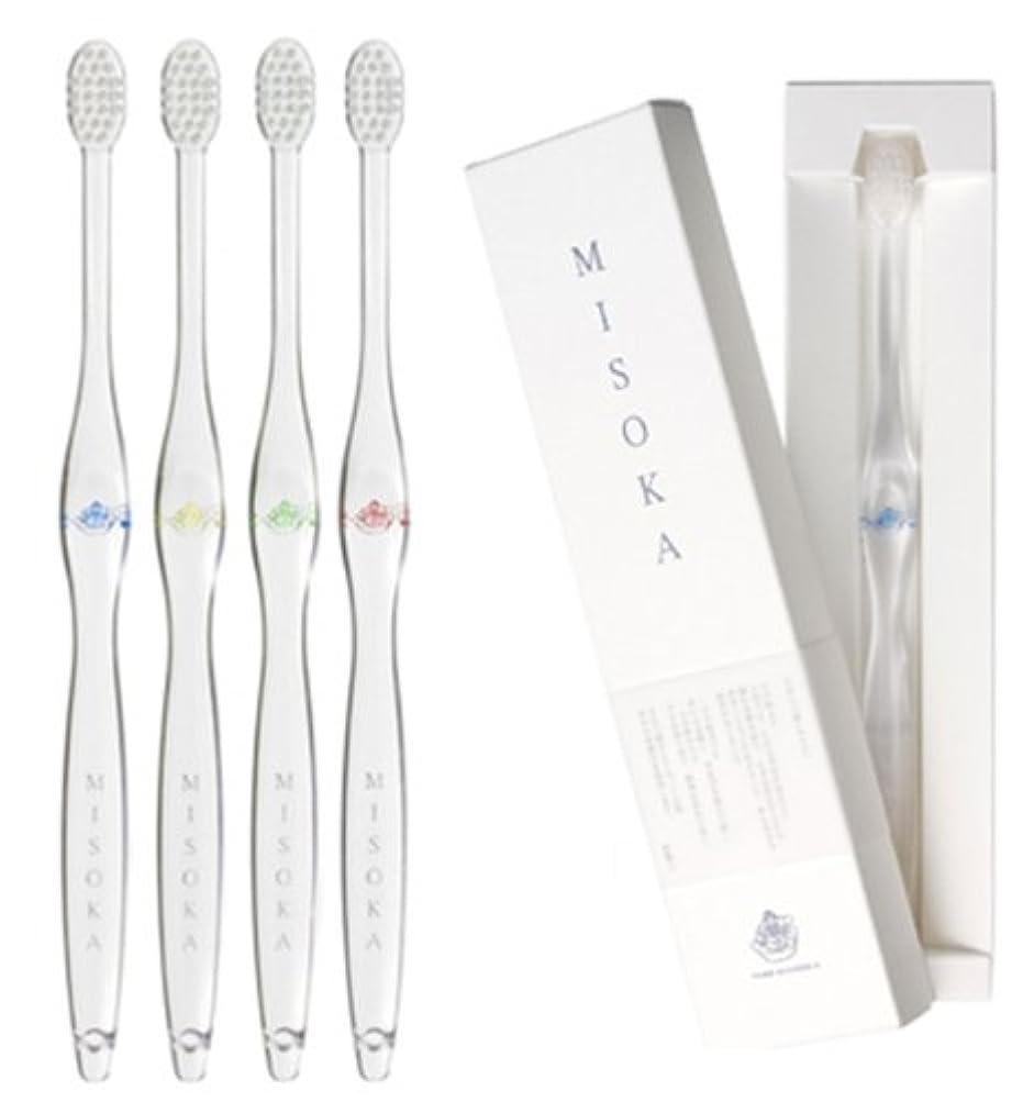 糸部店主MISOKA 夢職人 魔法の歯ブラシ / M普通サイズ4本 / ミネラルでできているから歯磨き粉不要! / 旅行に便利! / ナノテク
