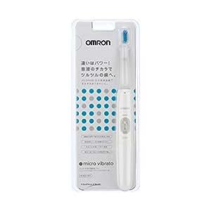 オムロン 電動歯ブラシ マイクロビブラート ホワイト HT-B201-W