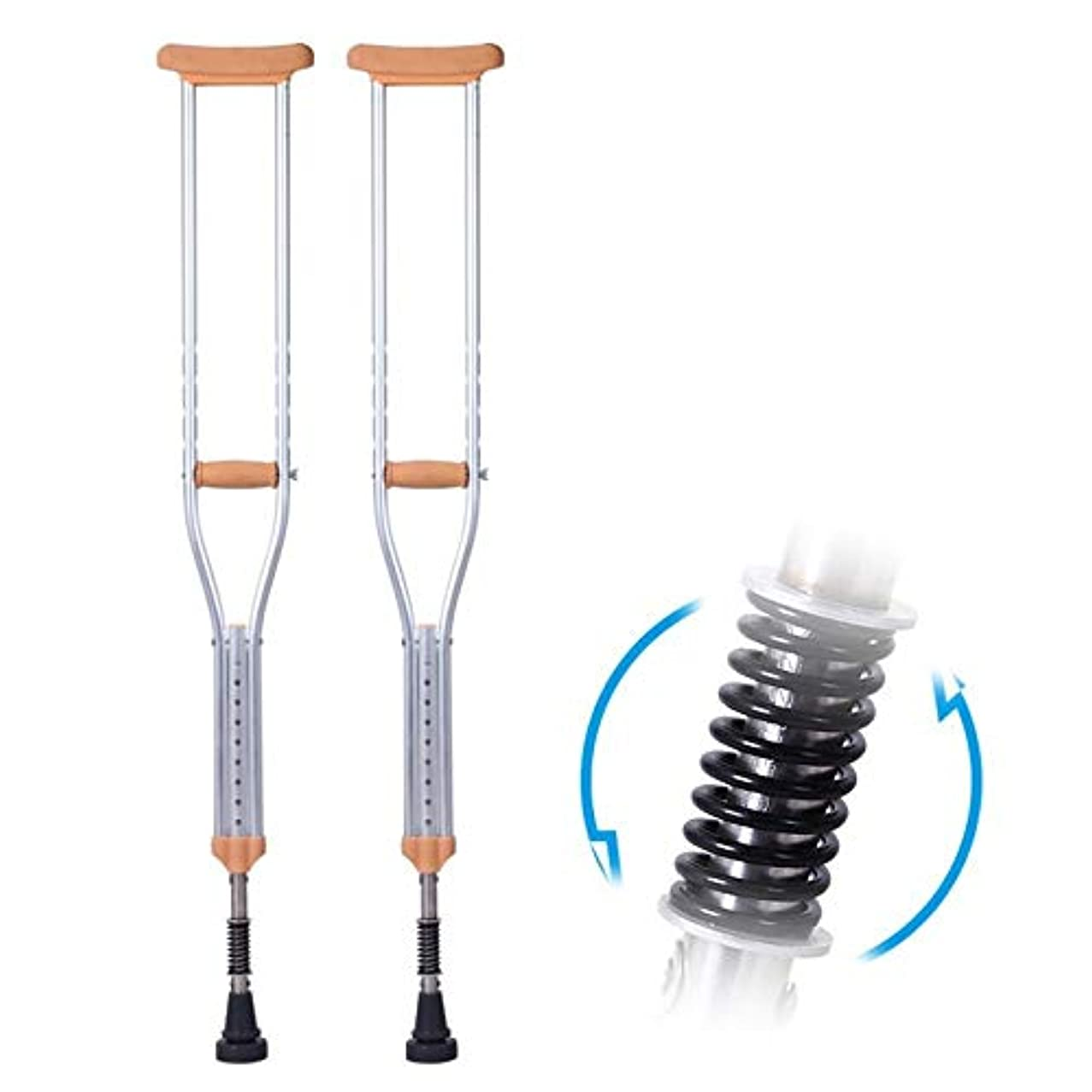 キャベツ司教隣接する女性男性高齢者トレイルハイキング家庭用松葉杖のための調節可能な杖 (Color : 2pcs, Size : Large)