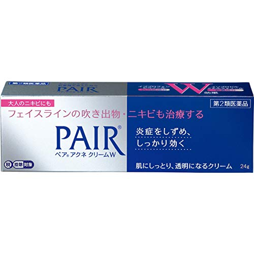 【第2類医薬品】ペアアクネクリームW 24g ※セルフメディケーション税制対象商品