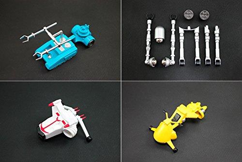 ダイナマイトアクション!  ストロングザボーガー&合体マシンセット ノンスケール ABS&PVC製 塗装済み 完成品