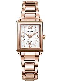 STIME レディース ビジネス レジャー 腕時計 クオーツ ウオッチ 女性用 ステンレス 時計