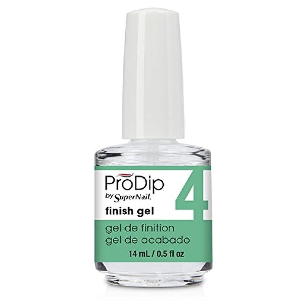 制約スナック想像するSuperNail ProDip - Finish Gel - 14 ml/0.5 oz