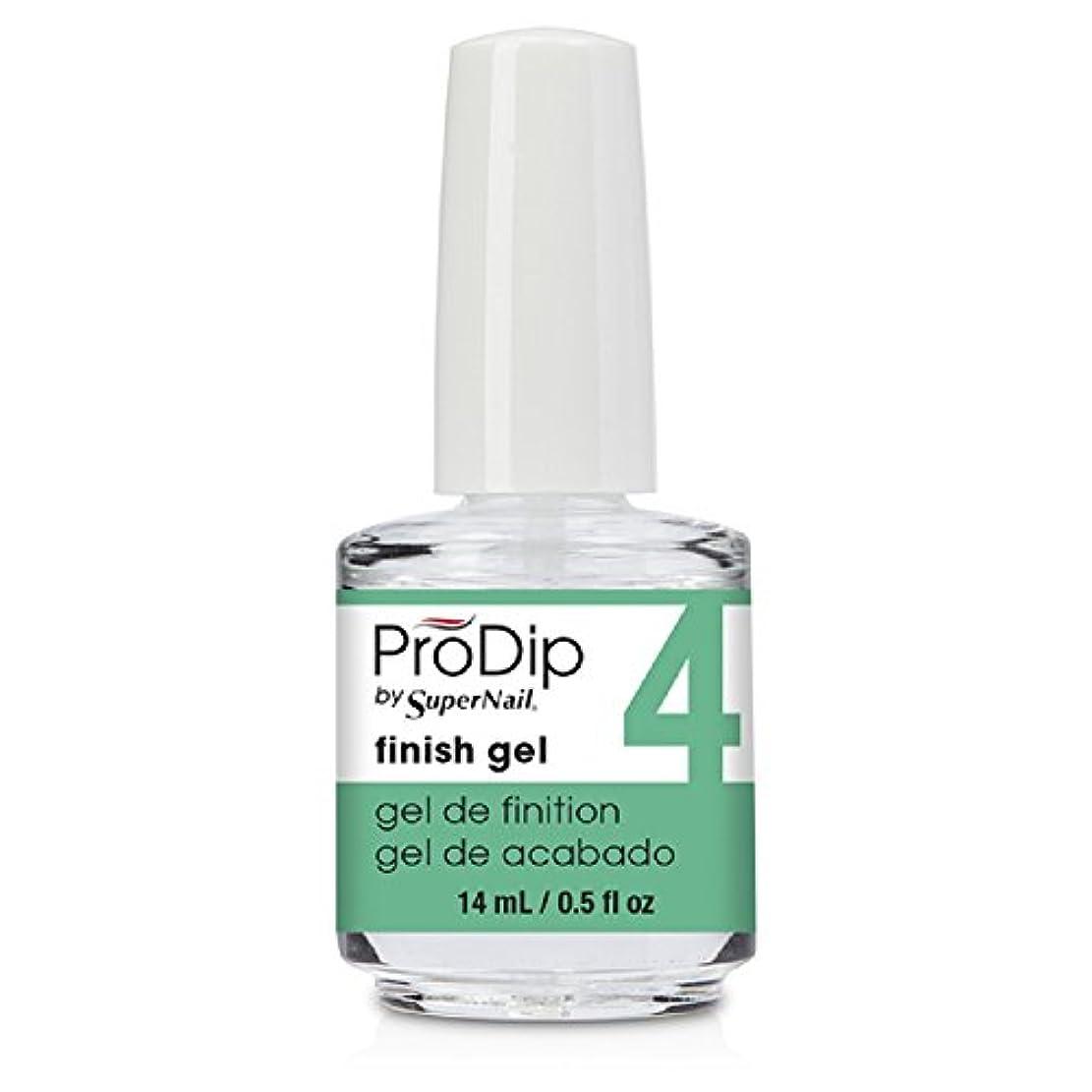 収まるエレガントメッセージSuperNail ProDip - Finish Gel - 14 ml/0.5 oz