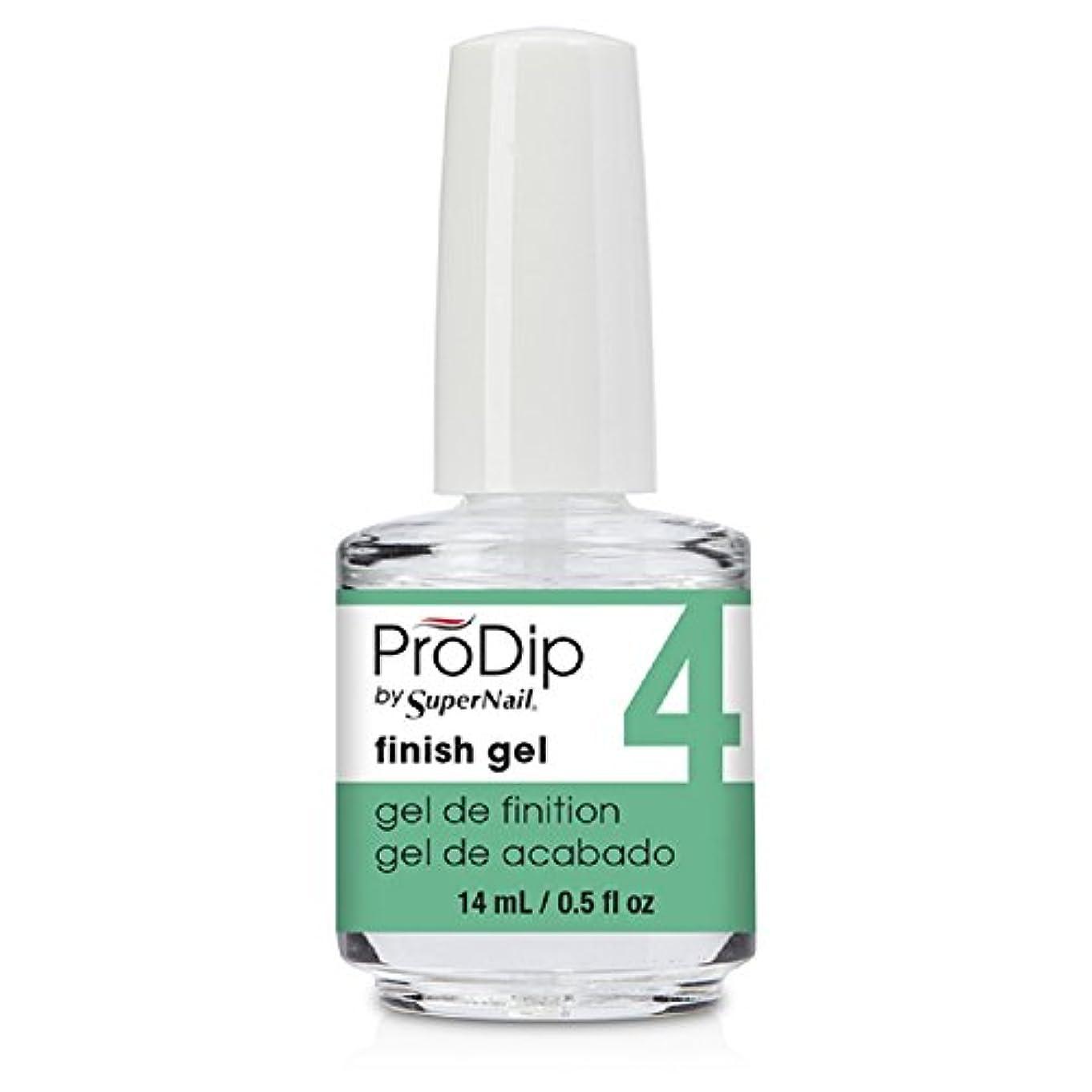 移植襟刺すSuperNail ProDip - Finish Gel - 14 ml/0.5 oz