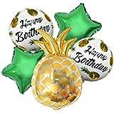 amleso バルーン 風船 パイナップル 星型 スターバルーン 部屋 パーティー 飾り 子供 おもちゃ プレゼント