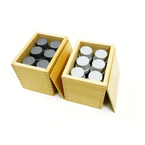 嗅覚筒 - モンテッソーリ感覚教育 Montehippo.com