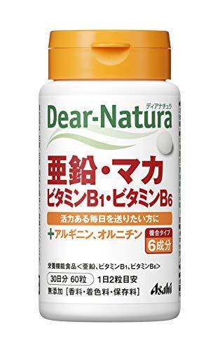アサヒグループ食品 ディアナチュラ 亜鉛・マカ・ビタミンB1・ビタミンB6 60粒 B07NVV3KGC 1枚目