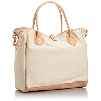 Canvas Tote w/ Strap 7631: Heavy Natural