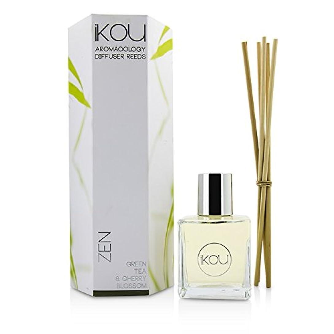iKOU アロマコロジー ディフューザーリード - ゼン (グリーンティー&チェリーブロッサム - 9か月分) -並行輸入品