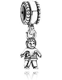 PANDORA Charms Sterling Silver Original Boy Dangle Charm