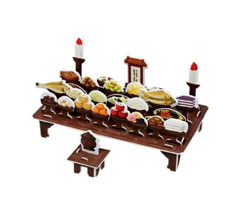 Korea Traditional memorial service table (Pumpkin)