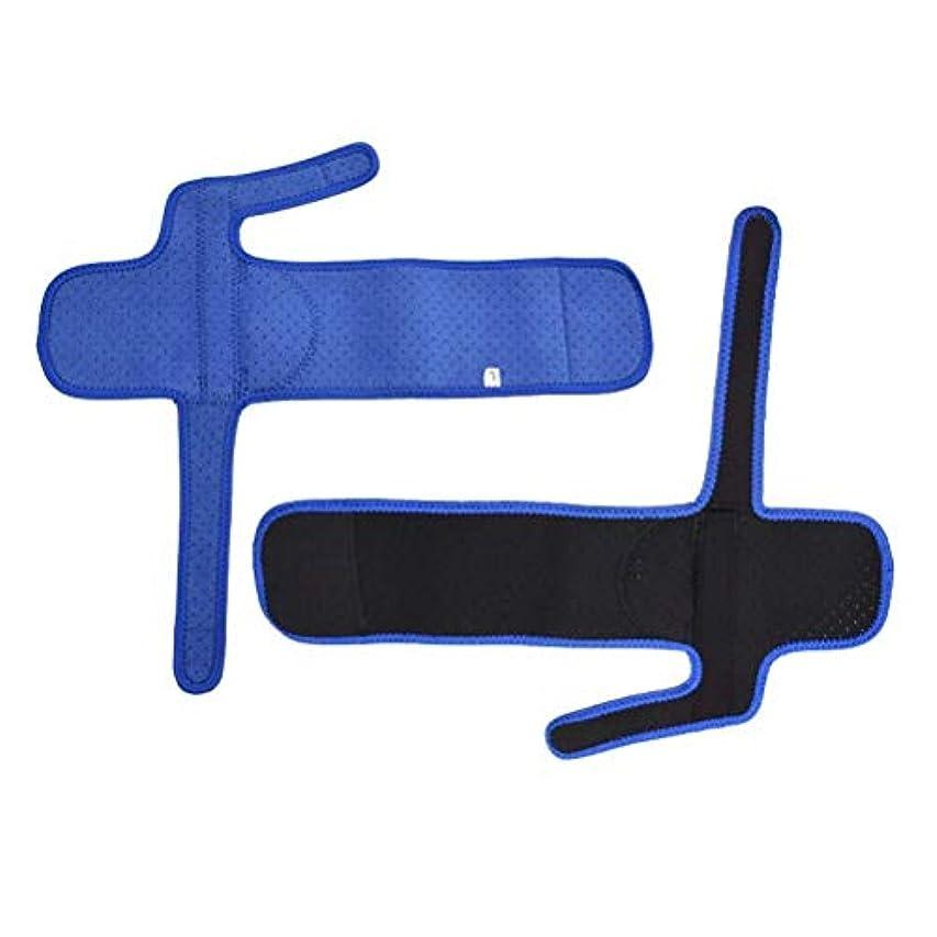 疼痛つま先プロテクターを和らげるために一組の外反母趾矯正クッションつま先