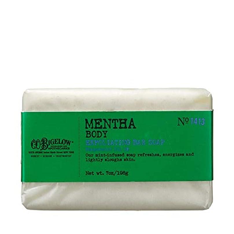 リーン広がり口述[C.O. Bigelow] C.O.ビゲローハッカピーリング石鹸 - C.O. Bigelow Mentha Exfoliating Bar Soap [並行輸入品]