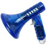 Rosetta K ボイスチェンジャー おもちゃ 変声器 ミニ ハンドスピーカー パーティーグッズ イベント 玩具 おもしろ (ブルー)