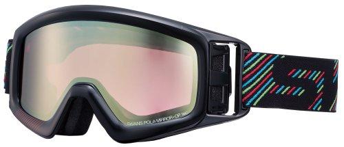 SWANS(スワンズ) スノーボードゴーグル 偏光レンズ HELI‐MPDH SPBK(751) フリー