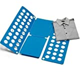 Bullidea 1X Adjustable Fast Clothes Folder Shirt Folder, Fast Folding of Shirts, Pants, Towels and Sweaters, T-shirts Folding