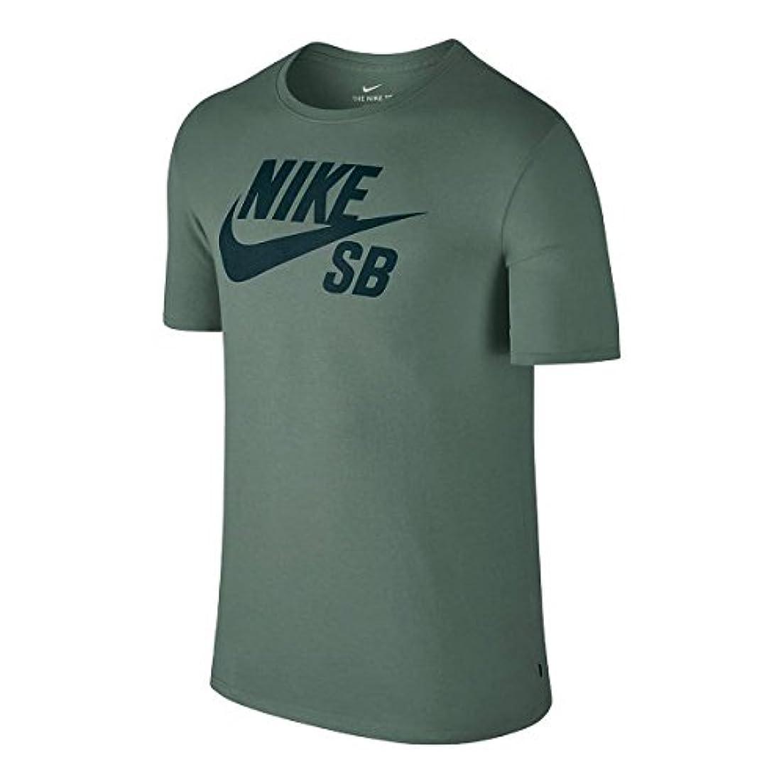 ストレンジャービン過半数NIKE SB(ナイキSB) Tシャツ DRI-FIT ロゴ 821947-365 クレイグリーン×ディープジャングル ナイキSB Tシャツ 【C1】