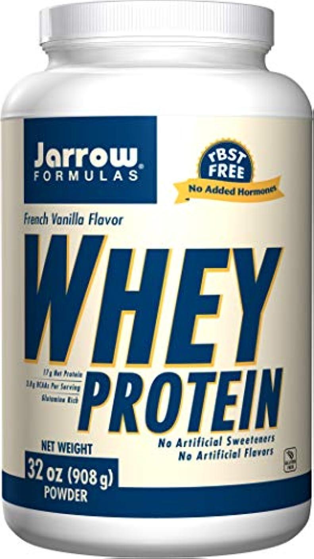 メモ模索情熱海外直送品Jarrow Formulas Whey Protein Vanilla, Vanilla 2 Lbs 908 GM