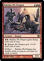 英語版 デュエルデッキ: ジェイスvsチャンドラ Duel Decks: Jace vs. Chandra DD2 ラクドスの地獄ドラゴン Rakdos Pit Dragon マジック・ザ・ギャザリング mtg
