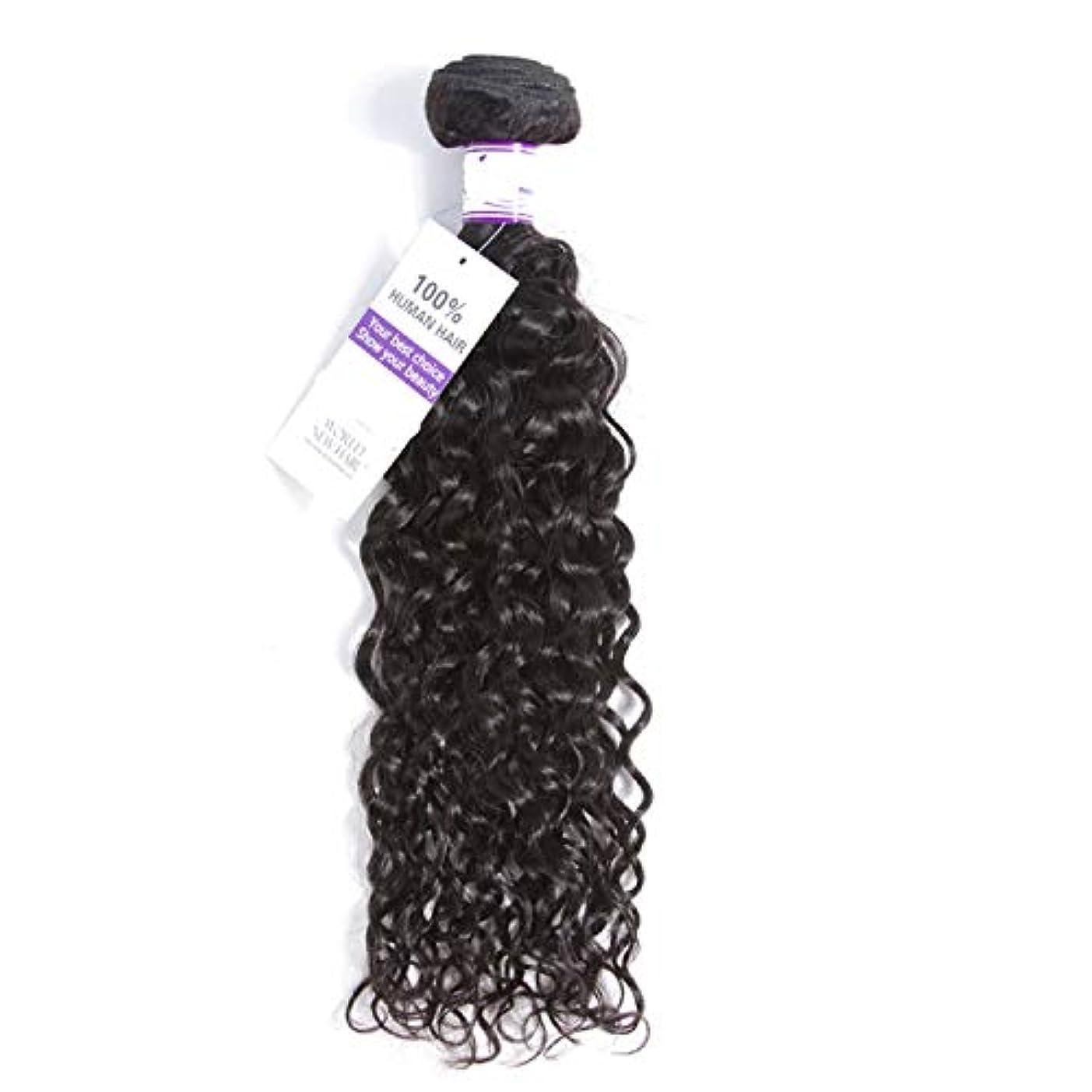 ホールギターどこマレーシア水波ヘアバンドル8-28インチ100%alidoremi人間の髪織りレミー髪ナチュラルカラー1ピース髪織り (Stretched Length : 16inches)