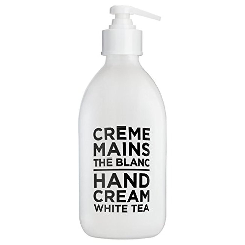 危険充実続編カンパニードプロバンス ブラック&ホワイト ハンドクリーム ホワイトティー(ホワイトティーにシトラスを添えた気品ある香り) 300ml