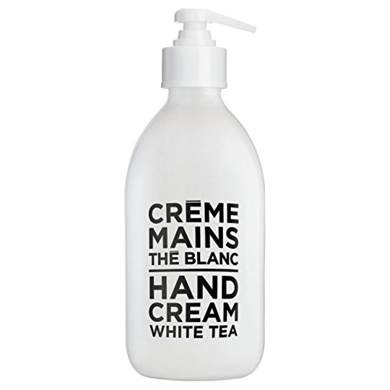 ジャンクション眠いですうつカンパニードプロバンス ブラック&ホワイト ハンドクリーム ホワイトティー(ホワイトティーにシトラスを添えた気品ある香り) 300ml