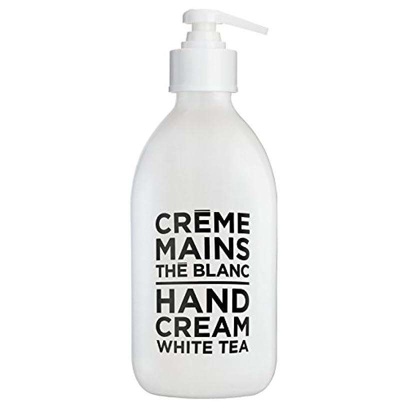長くする長くする出席するカンパニードプロバンス ブラック&ホワイト ハンドクリーム ホワイトティー(ホワイトティーにシトラスを添えた気品ある香り) 300ml