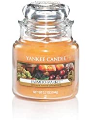 Yankee Candle Farmer 's Market Small Jar Candle, Food & Spice香り