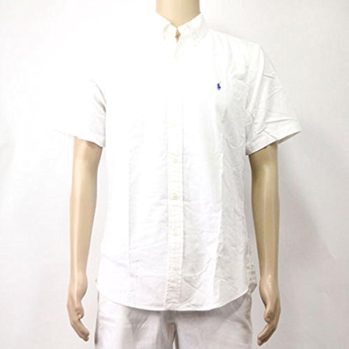 銀行難民海里[ポロ ラルフローレン] POLO RALPH LAUREN 正規品 メンズ 長袖シャツ Custom-Fit Short Sleeve 並行輸入品 (コード:4075890501)