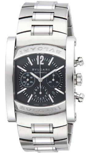 [ブルガリ]BVLGARI 腕時計 AA44C14SSDCH アショーマ クロノグラフ グレー メンズ [並行輸入品]