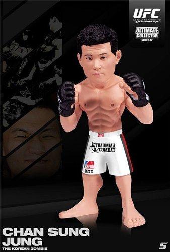 韓国ゾンビ( chan-sung Jung ) Round 5UFC Ultimateコレクターシリーズ12