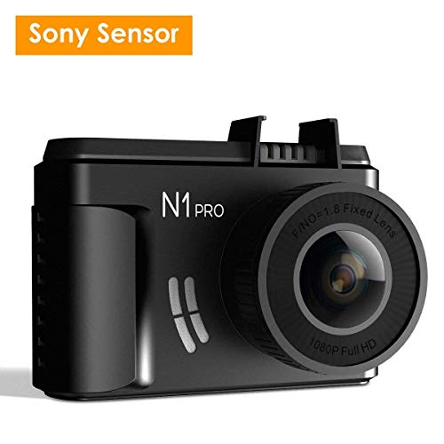 ドライブレコーダー VANTRUE N1 Pro 1080P SONY製センサー 広角160度 フルHD 1.5型LCD 駐車監視 動体検知 衝撃検知 常時録画 ループ録画 G-センサー 暗視機能
