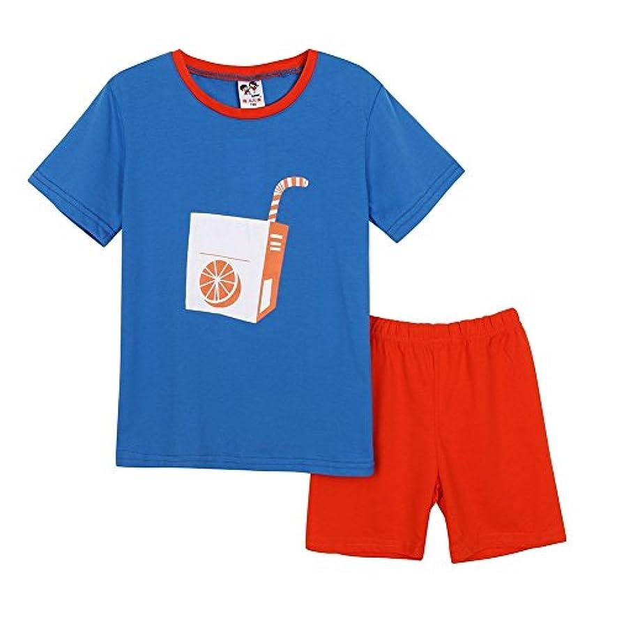 むしろ困惑する賢いCutelove Tシャツ+半ズボン2点セット ジュース柄 ラウンドネック トップス 半袖 綿 男の子 女の子 ベビー ボイズ ガールズ 赤ちゃん 幼児 春 秋 可愛い ファッション 素敵 カジュアル 普段着 韓国