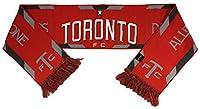 MLSトロントFC Cup Champions編みスカーフ、レッド1サイズ