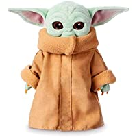 Haho The Mandalorian Baby Yoda Plush Toy, Collections and Gifts for Mandalorian Fans