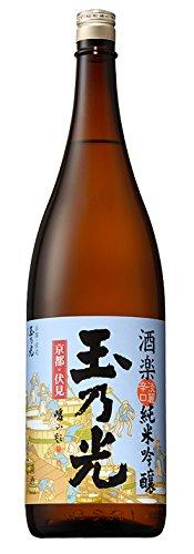 玉乃光 純米吟醸 酒楽 淡麗辛口 瓶1800ml