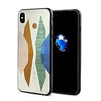 自然 アート IphoneXケース アイフォンX ケース 携帯カバー スマホケース アイホンX 衝撃吸収 おしゃれ TPU保護カバー 軽量